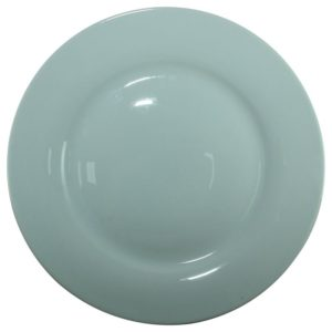10 inch ceramic dinner plate with display stand