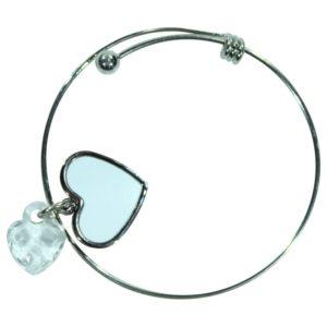 Adjustable hart bracelet