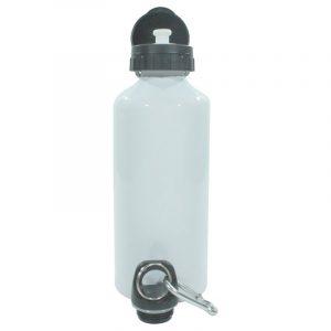 600ml white stainless steel water bottle