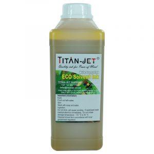 Eco solvent 1L yellow