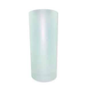 Titan-Jet Africa | 10oz Frosted glass white